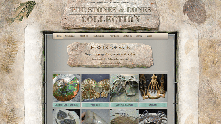 Stones & Bones Collection