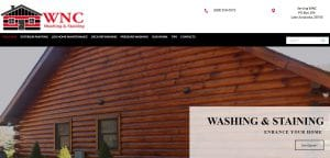 Websites for Pressure Washing Company