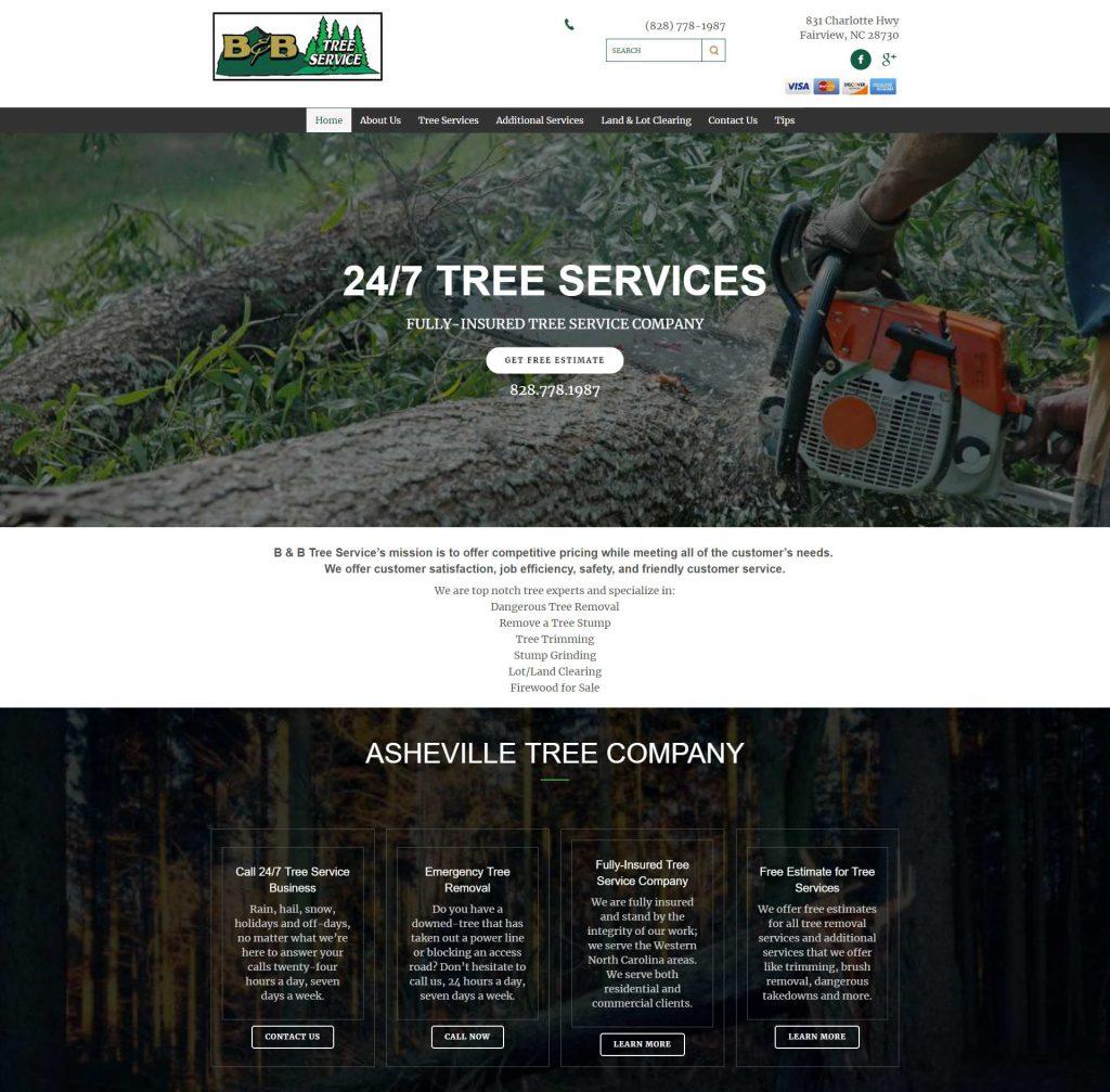 Websites for Tree Companies